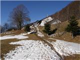 Koča Antona Bavčerja na Čavnu mountain hut